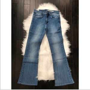 ZARA High Waisted Flare Jeans